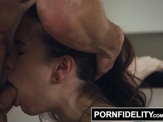 PORNFIDELITY Anna de Ville Hard Ass Fucking Creampies