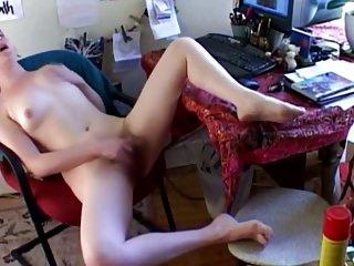 STP7 Orgasmic Teen Brings Herself Off Twice !