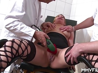 German Cheating MILF at the Anal Doctor