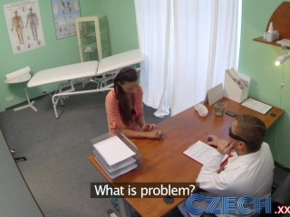 Czech Doctor initimately examines a married woman