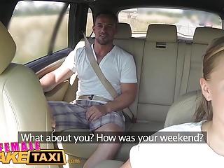 Female Fake Taxi Massive tits cabbie wants cock