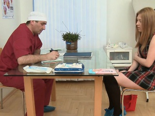 Simple angel is fucking her doctor, like a wild animal