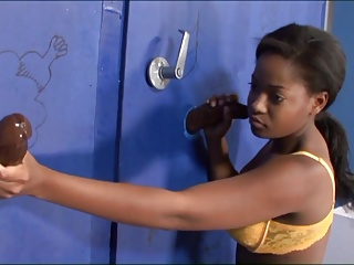 Ebony Gloryhole
