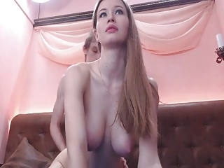 Pretty Babe With Big Natural Tits Fuck In Pussy
