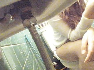 asian young lady toilet peep movie