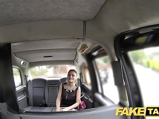 Fake Taxi Stunning Romanian with perfect tits gets a facial