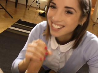 Casted eurobabe pov fucking and sucking