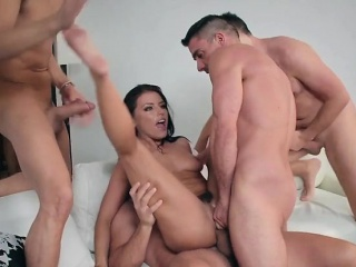 Married Hoe Adriana Chechik Gets Her Holes Filled Up
