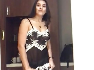 Sexy Indian Woman Strippin