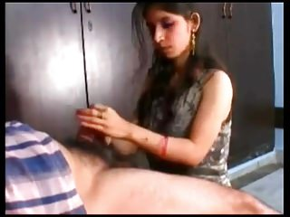 Post Natal Lactating Indian Wife Blowjob