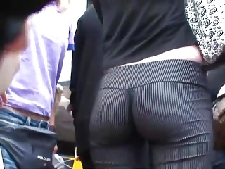 Firm ass in tight pants