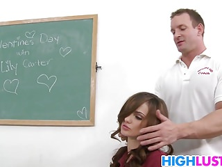 Schoolgirl Lily Carter and her valentine secret