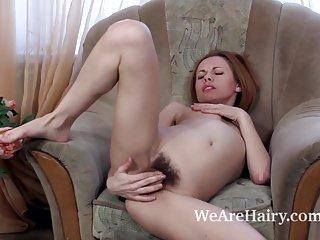 Liliya plays a masturbating police officer