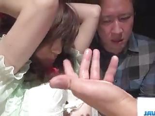 Obedient milf, Kanako Iioka, enjoys rough toy porn