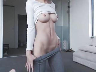 Snap MelissaHot2017 Hot Yoga Pants Girl (HD)