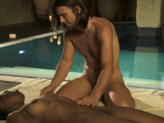 Relaxing Her Sweet Indian Ass With Intimate Massage