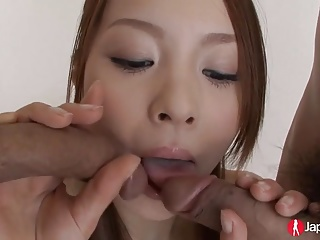 First Time Cute Japanese Teen