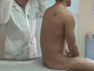 Hot Latin Pops a Woody During Physical Exam02