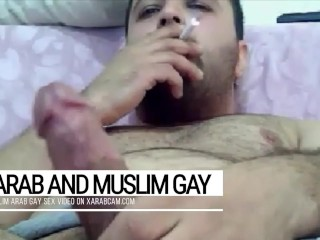 Abbas, the Arab gay muslim pig from the Emirates. Both devout and sluttish