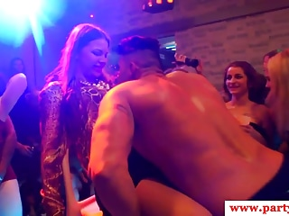Real euro orgy babes pussyfucked on camera