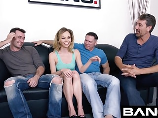 BANG Casting : DP With Tiny Petite Angel Smalls