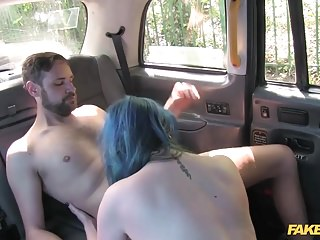 Fake Taxi horny couple have random sex