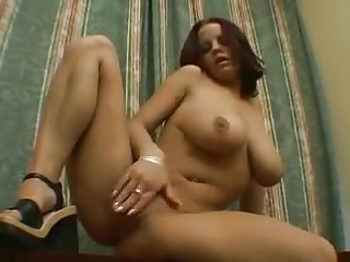 Solo Girl Rubs All Over