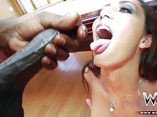 Horny cuckold interracial housewife