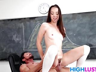 Schoolgirl Nikki Next Is Very Horny