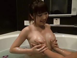 Erotic Lotion Bath Time