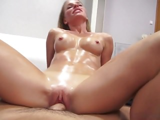 Horny teacher wants her pussy creampied