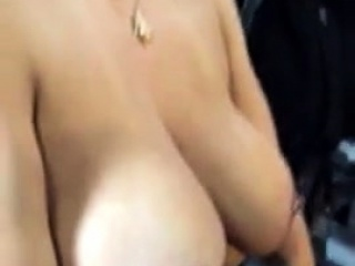 Latina With Nice Tits Gets Nipples Pierced