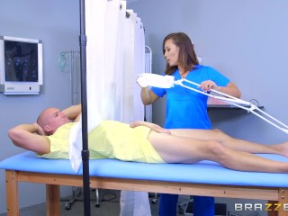 Kelsi Monroe gets a full physical - Brazzers