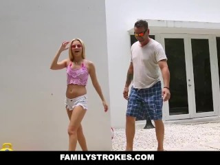FamilyStrokes - Secretly Fucked My Cousin Behind My DAD
