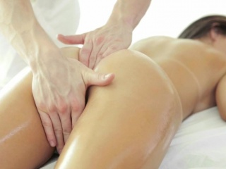 Oiled Up Massage for Tight Pussy